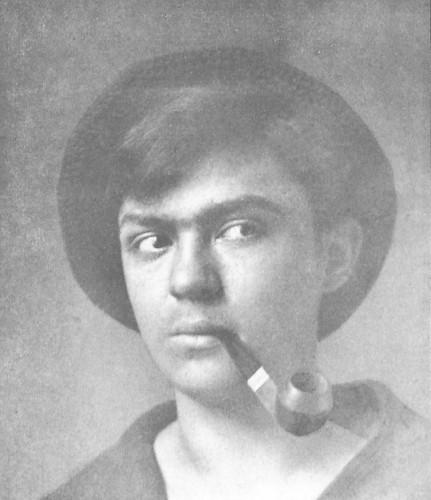 """Jens Stammer Hetlands fotografi """"My Boy"""", fra: Der Eigene. Ein Blatt für männliche Kultur 1903 (mars), s. 157."""