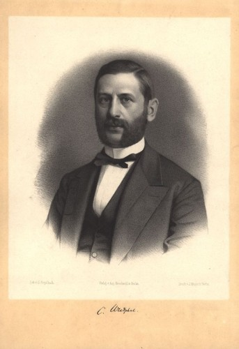 """Carl Westphal (1833-1890), professor of psychiatry in Berlin and expert on """"contrary sexuality""""."""