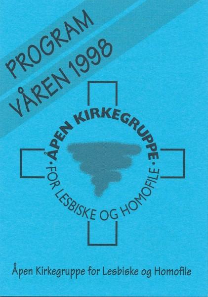Åpen Kirkegruppes vårprogram 1998