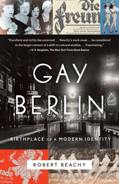 Omslaget til Beachys bok Gay Berlin: Birthplace of a Modern Identity.