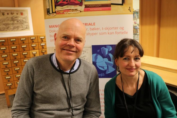 Jo Hjelle og Ragnhild Bjelland