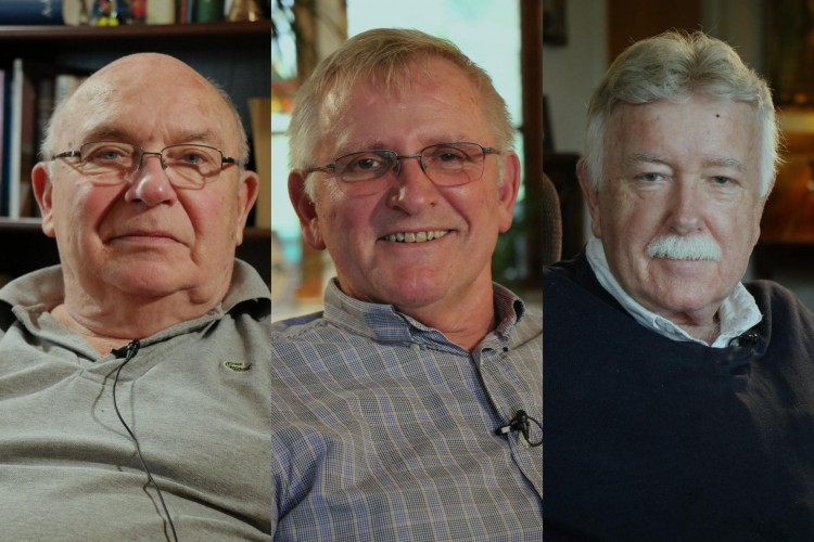 Ole Henrik Røine, Arne Skalleberg og Ole Johan Carlsen er med i Skeivt arkivs livsminneprosjekt.