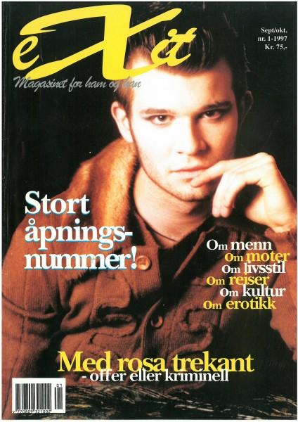 Nr.1 Høsten 1997. Bilde frå Erik S. Kebbe