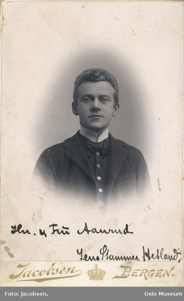 Jens Stammer Hetland. Source: Europeana.