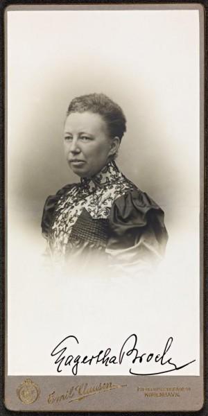 Portrett av Lagertha Broch