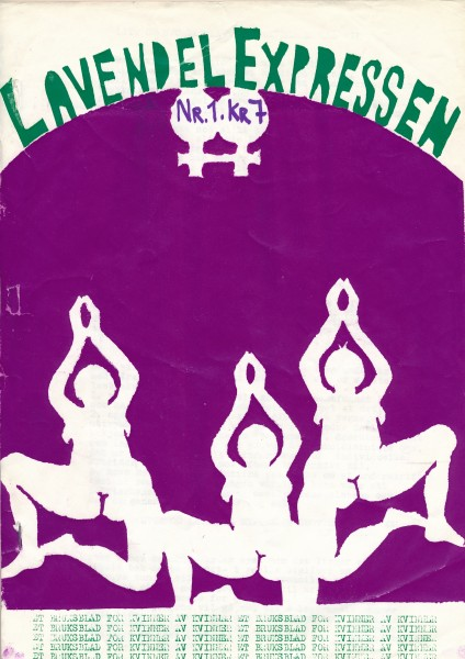 Forside av Lavendelexpressen nr. 1, 1976