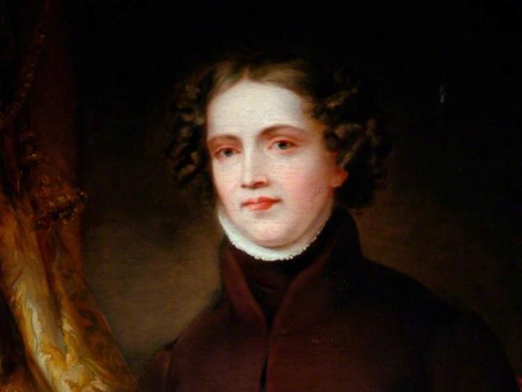 Anne Lister, utsnitt av portrett malt av Joshua Horner
