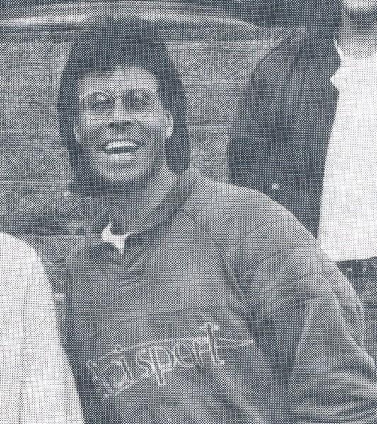 Bilde av Dag Strand-Nielsen fra en reportasje i Løvetann nr 4, 1989.