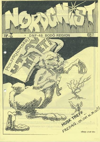 Forsiden av Nordgnist 3/87