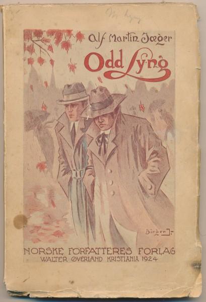 """I romanen Odd Lyng (1924) av Alf Martin Jæger ble ordet """"homoseksuell"""" for første gang brukt i et norsk skjønnlitterært verk."""