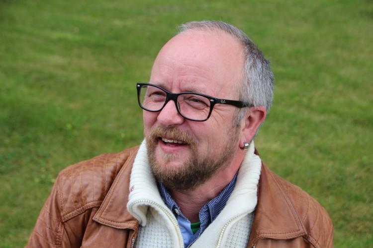 Stein Wolff Frydenlund. Fotografi: Ingunn Saltbones, VG