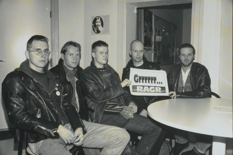 Ragr des. 1991. Foto: Stein Fredriksen, Blikk-arkivet