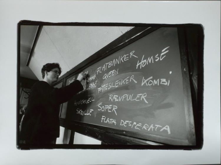 Foto: Blikk-arkivet. Fotograf: Hilde Holthe-Berg (1996)