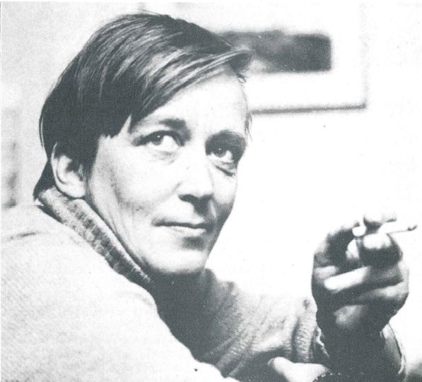 Sissel Castberg. Foto: Løvetann 1988, fotograf ukjent.