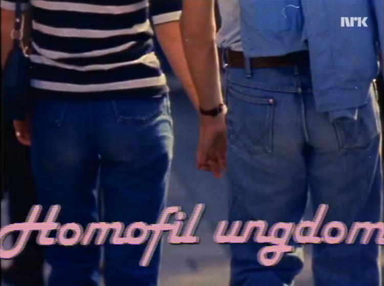 Stillbilde fra NRK-programmet Flimra, 1981.