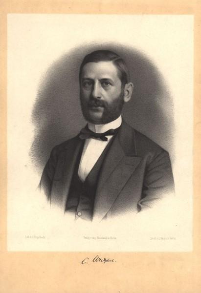 "Carl Westphal (1833-1890), professor i psykiatri i Berlin og ekspert på ""kontrær seksualfølelse""."
