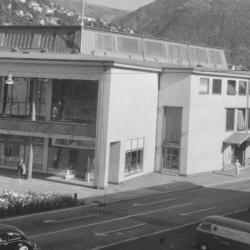 Chianti Restaurant på Bystasjonen. Foto: Enoch Djupdræt/Billedsamlingen, Universitetet i Bergen.
