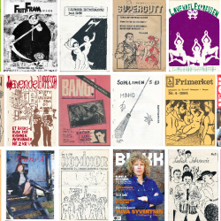 A selection of Norwegian LGBT journals and zines
