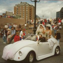 Homodagene i 1993. Foto: Løvetannarkivet