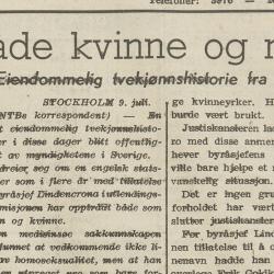 Telemark Arbeiderblad, fredag 9. juli 1948. (Nasjonalbiblioteket.)
