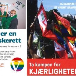 Venstre Sosialistisk Venstreparti brosjyrer 2016