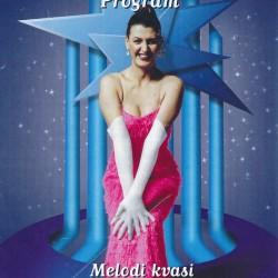 Plakat fra Désirée Hafstad sitt arrangement Melodi Kvasi Grand Prix