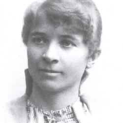 Minda Ramm, ca. 1895. Fotograf: Ukjent.