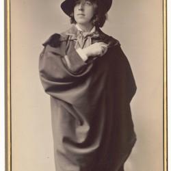 Oscar Wilde fotografert av Napoleon Sarony, 1882.