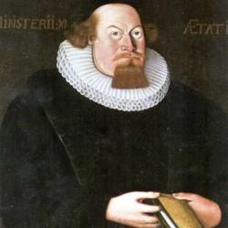 Maleri fra Melhus kirke som etter tradisjonen skal være av Petter Dass.