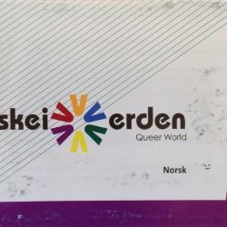 Brosjyre fra Skeiv verden, mottatt under Oslo Pride 2015
