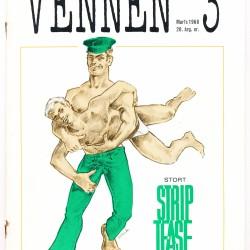 Forsiden til Vennen nr 3 1968, 20. årgang.
